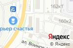 Схема проезда до компании Валентина в Астрахани