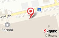 Схема проезда до компании Маркетинг Пипл в Астрахани
