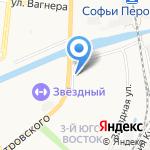 Элегия на карте Астрахани