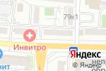 Схема проезда до компании МТС в Астрахани