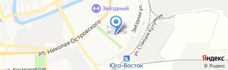 Ростехнадзор Нижне-Волжское Управление Федеральной службы по экологическому на карте Астрахани
