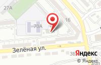 Схема проезда до компании Комстрой Инвест в Астрахани