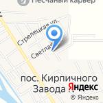 Никатен на карте Астрахани
