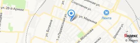 АVеню на карте Астрахани