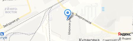 Бизнес-Партнер на карте Астраханской области