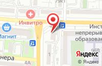 Схема проезда до компании Бюро полезных услуг в Астрахани