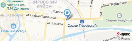 Финпотребсоюз на карте Астрахани