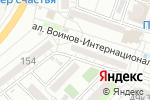 Схема проезда до компании НАСЛЕДНИКИ в Астрахани