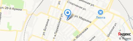 Хельга на карте Астрахани