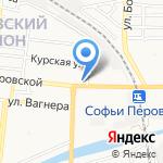Почтовое отделение №4 на карте Астрахани