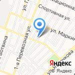 Браво! на карте Астрахани