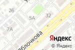 Схема проезда до компании Магазин трикотажа в Астрахани