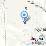 МСК на карте Астрахани