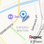 Де Прованс на карте Астрахани