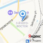 Отис на карте Астрахани