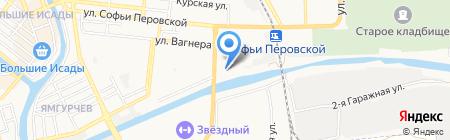 Дамский клуб на карте Астрахани