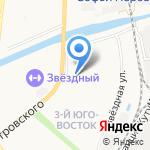 Магазин по продаже фруктов на карте Астрахани