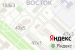 Схема проезда до компании Ананас в Астрахани