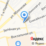Декабрь на карте Астрахани