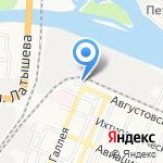 Сауна на карте Астрахани