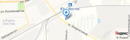 АЗС на карте Астраханской области