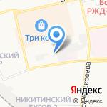 Чудо дети на карте Астрахани