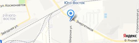 Тент-Сервис на карте Астраханской области