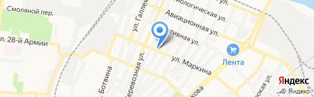 Мобильная автомойка на карте Астрахани