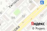Схема проезда до компании Ямото в Астрахани