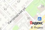 Схема проезда до компании Сеть магазинов подшипников и инструментов в Астрахани