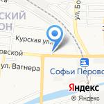 Наш на карте Астрахани
