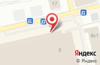 Схема проезда до компании Безопасность труда в Астрахани