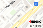 Схема проезда до компании Феерия в Астрахани