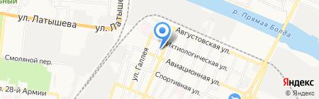 ВДПО на карте Астрахани