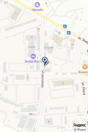 Автомойка на Энергетиков шоссе на карте Астраханской области