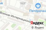 Схема проезда до компании Почтовое отделение №22 в Астрахани