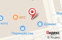 Схема проезда до компании Еврочехол в Астрахани