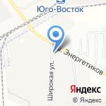 КРЭДА на карте Астрахани