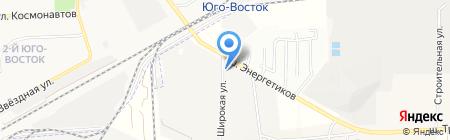 КРЭДА на карте Астраханской области