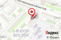 Схема проезда до компании Утенок в Астрахани