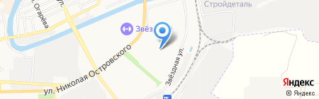 Великолукский мясокомбинат на карте Астрахани