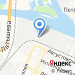 МФ А-мега на карте Астрахани