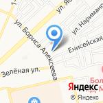 Весна на карте Астрахани