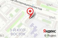 Схема проезда до компании Ангелочки в Астрахани