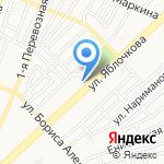 Строймакс на карте Астрахани