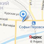 START-UP на карте Астрахани