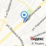 Форма на карте Астрахани