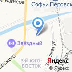 Катенька на карте Астрахани