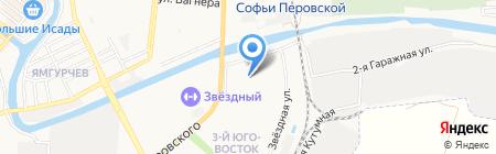 Детский сад №121 на карте Астрахани