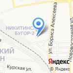 Замечательный сосед на карте Астрахани